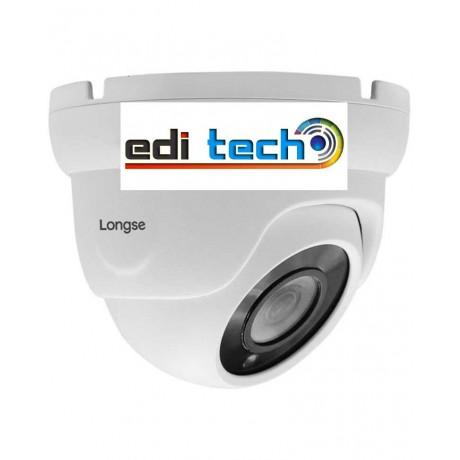 LIRDBAHTC500FK - 5MPX куполна 4 в 1 вандалоустойчива куполна камера за външен монтаж